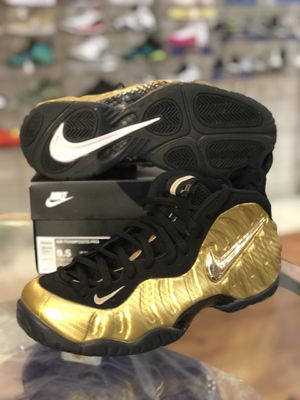 Metallic gold foams size 9.5 for Sale in Silver Spring, MD