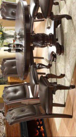 💠 5-Piece Dining Room Set (4 Side Chairs & Table) 💠💲💲39 DOWN PAYMENT ONLY 💲💲 Thumbnail