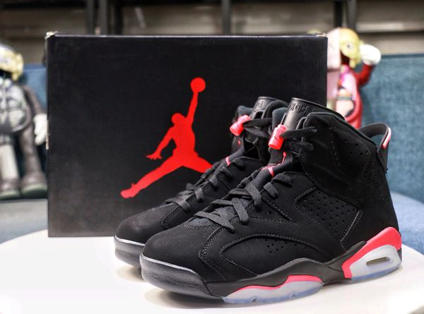 buy popular 43178 1ee9e Air Jordan 6 Black Infrared OG 2019 for Sale in Baltimore, MD - OfferUp