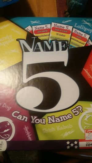 Can you name 5 game for Sale in Martinsburg, WV