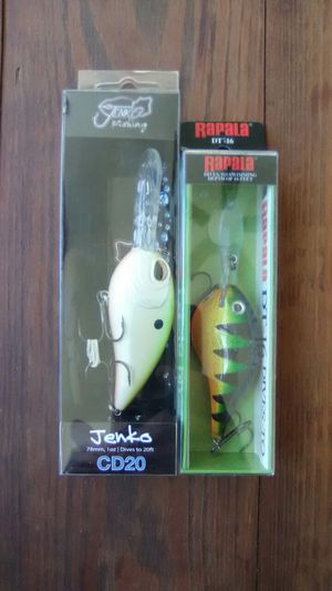 Fishing lures/hooks for Sale in Martinsburg, WV