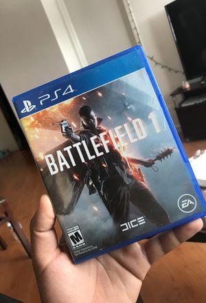 Battlefield 1 ps4 for Sale in Miami, FL