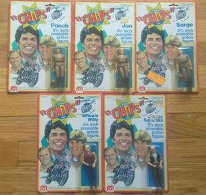 CHiP's MOC Figures set of 5 for Sale in Virginia Beach, VA