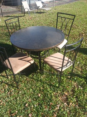 Table n 4 chairs. 300 other items. look under sellers other items for Sale in Atlanta, GA