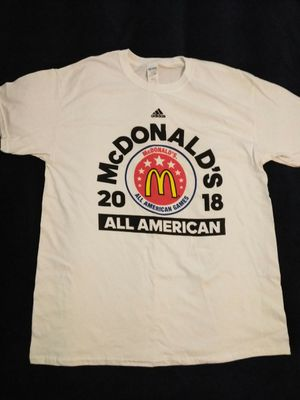 McDonald's All American Game T-Shirt Large for Sale in Atlanta, GA