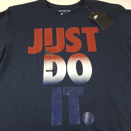f5767abe Mens Nike Just Do It Graphic Tee L New A2 for Sale in Waxahachie, TX ...