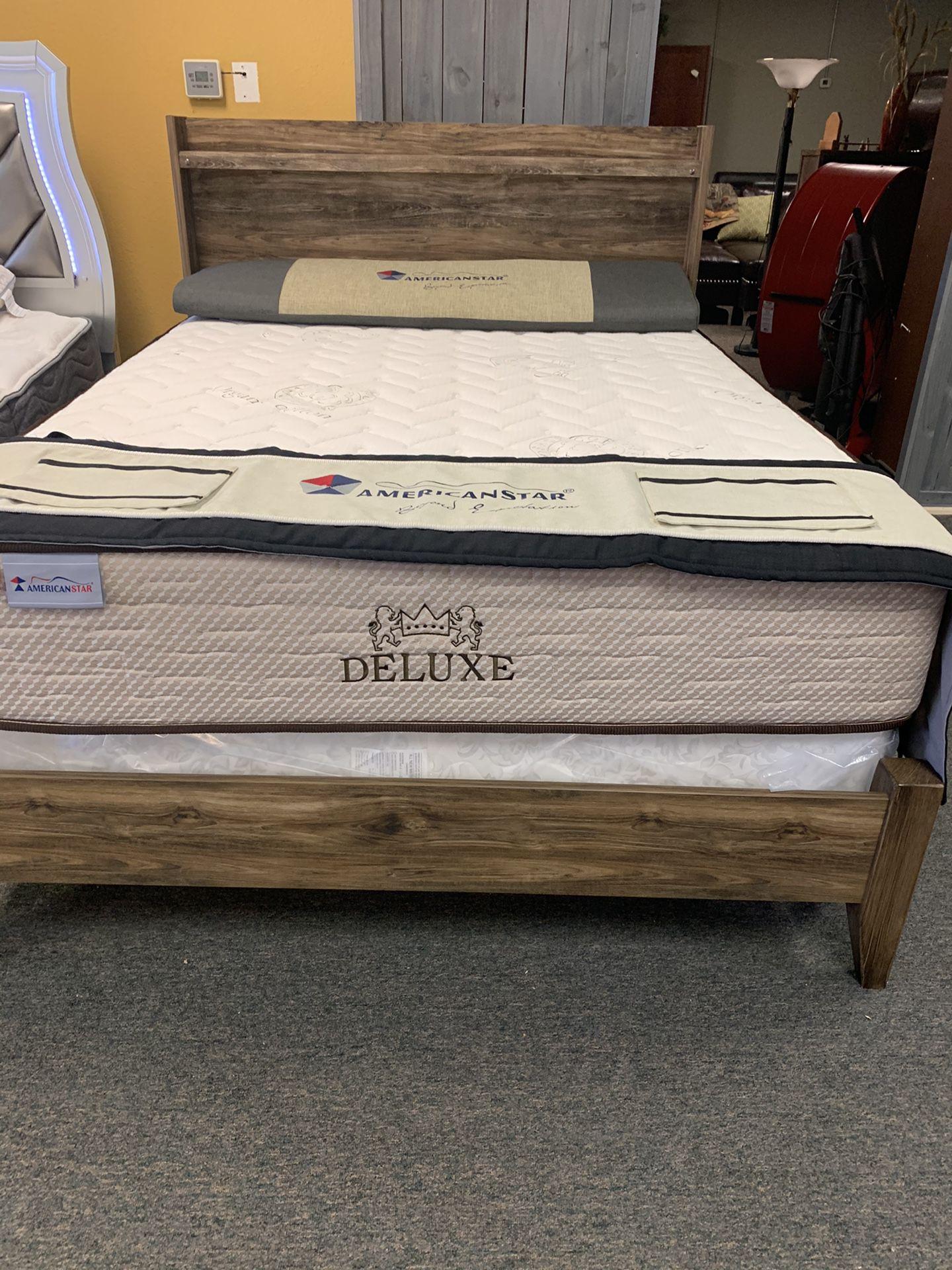 Queen size deluxe extra firm mattress