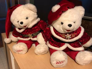 Christmas Bears (his&hers) for Sale in Apex, NC