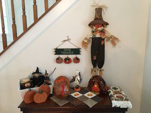 🎃Halloween🎃 AND 🦃 Thanksgiving 🦃 Items for Sale in Potomac Falls, VA