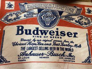 Photo Vintage Budweiser Towel