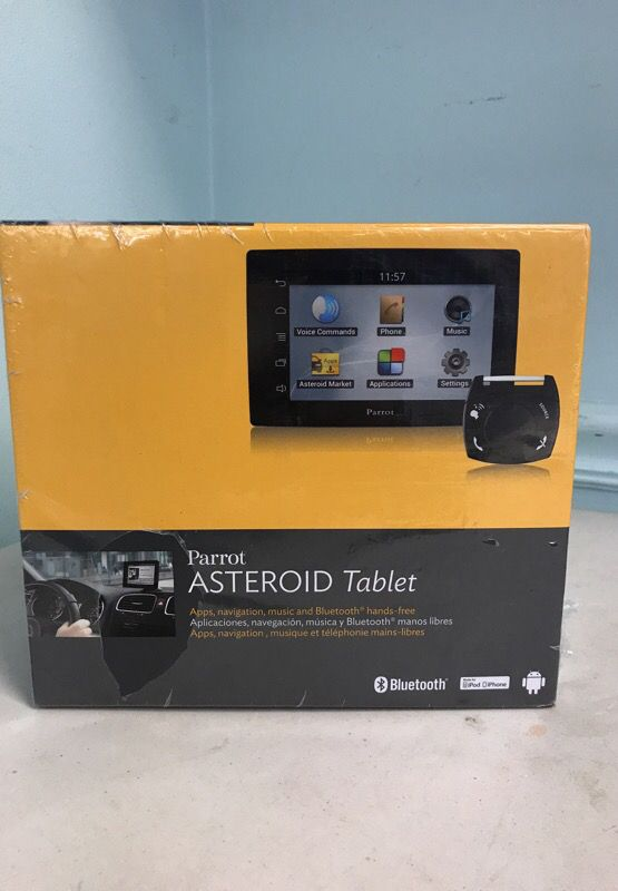 Parrot asteroid tablet for in car use gps bluetooth etc for sale open in the appcontinue to the mobile website keyboard keysfo Choice Image