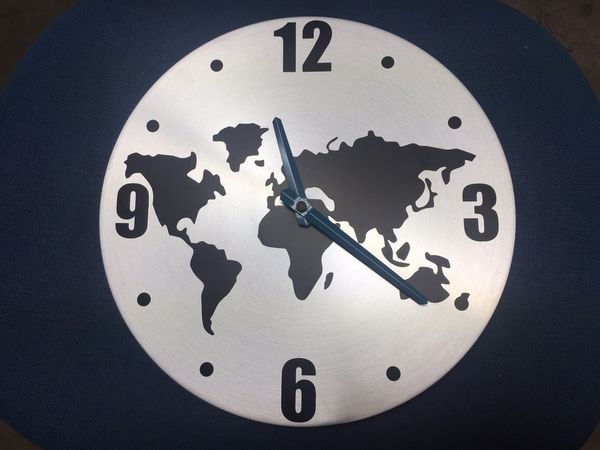 Ikea World Map Wall Clock for Sale in Santa Ana, CA - OfferUp on louis vuitton world clock, at&t world clock, sony world clock, sharp world clock, apple world clock, google world clock,