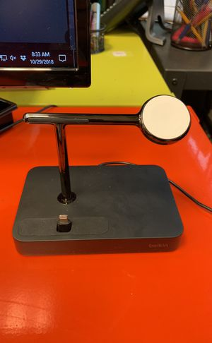 BELKIN CHARGER DOCK FOR APPLE WATCH + iPhone for Sale in Santa Monica, CA