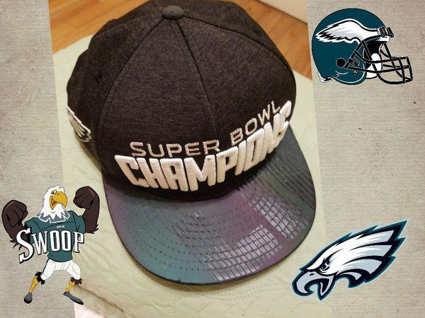 best service 7cd23 9980d New Era Cap Company Philadelphia Eagles Super Bowl Lii Champions Parade  9fifty Snapback Ad - Black for Sale in Philadelphia, PA - OfferUp