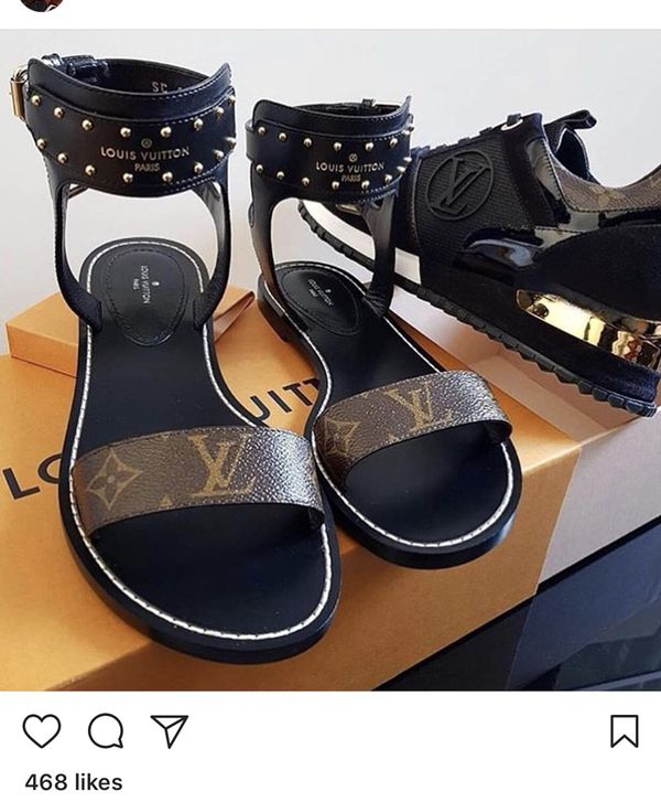 """e10173289227 Louis Vuitton """"NOMAD"""" Sandals (PRE-ORDER) NOW for Sale in Houston ..."""