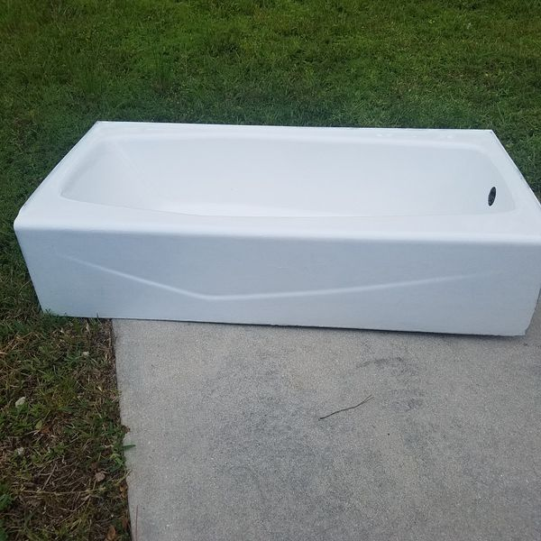 Cast Iron Bath Tub Damaged For Sale In Naples FL OfferUp - Bathroom fixtures naples fl
