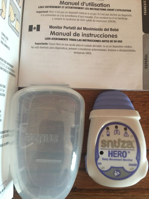 Snuza Hero Baby Movement Monitor For Sale In New Braunfels Tx Offerup
