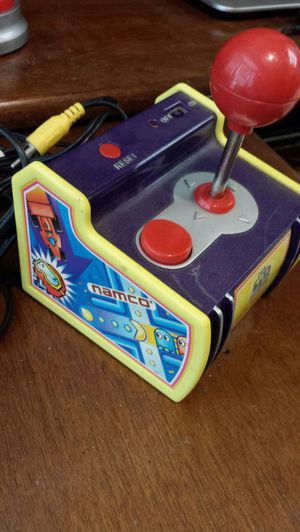 games are as follows Pac-man Dig Dug Galaxian Rally-x Bosconian battery compartment is free from corrosion, used for sale  Tulsa, OK