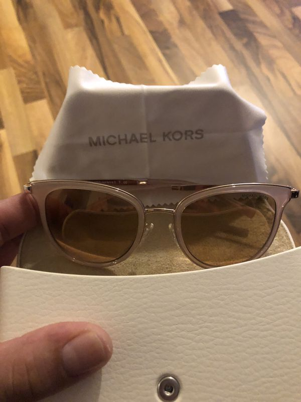 4c0519c066 Brand new pink rose gold Michael Kors Adrianna sunglasses for Sale ...