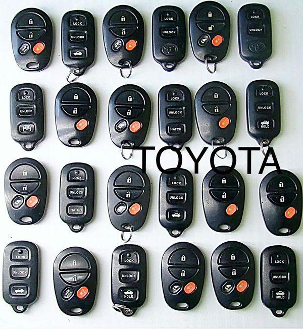Toyota Tacoma Sienna Corolla Solara Highlander Sequoia