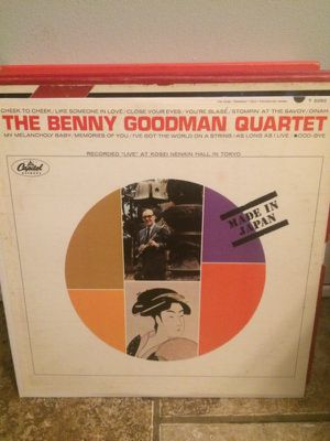 Benny Goodman Made In Japan record for Sale in St. Louis, MO