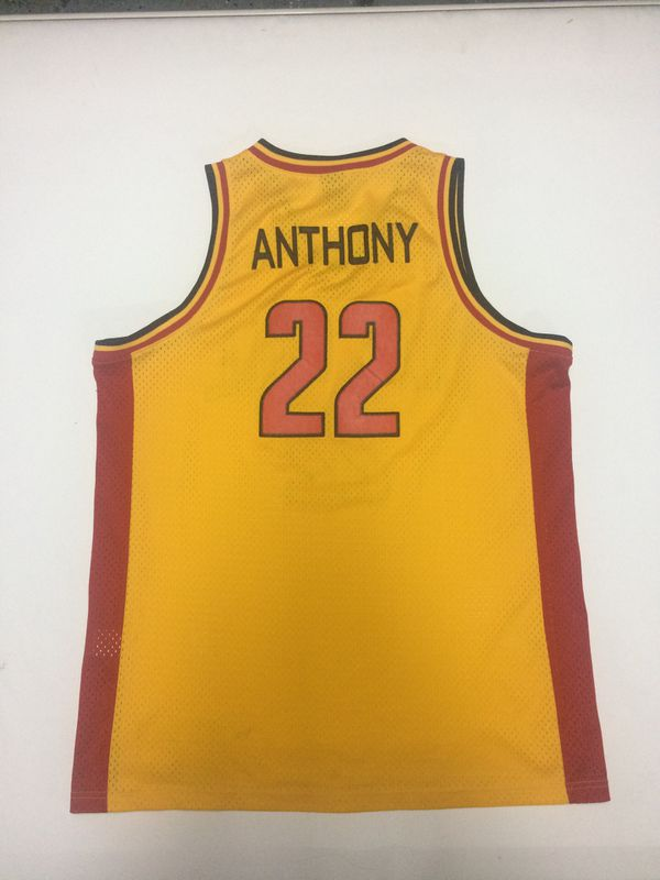 f919e19ff40 Carmelo Anthony Oak Hill High School NBA Jordan Jersey size XL for ...