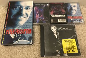 Lot of 5 Peter Frampton Cassettes CDs & VHS Tapes - Comes Alive MORE for Sale in Chicago, IL