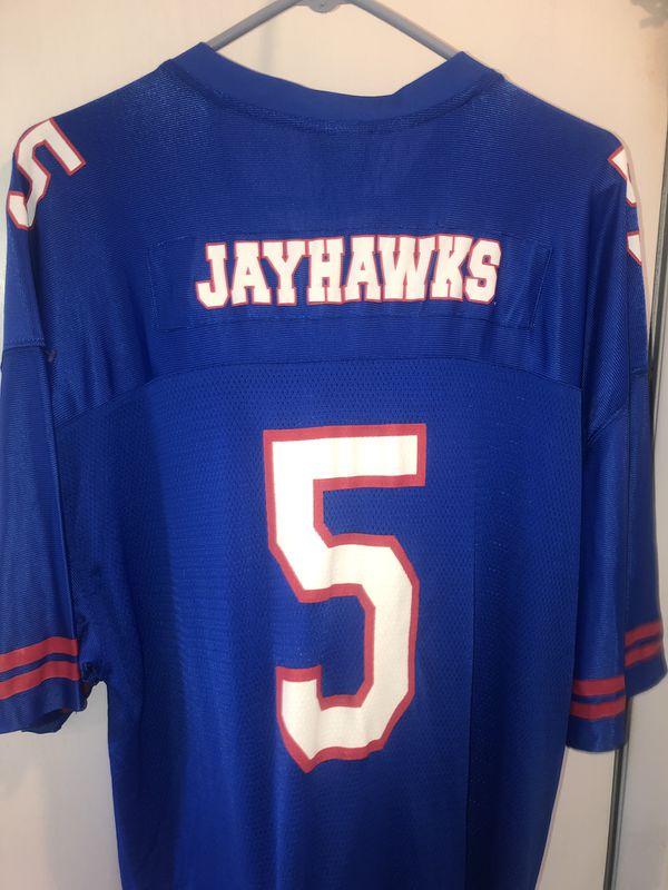 brand new 2aeb9 37d15 Vintage starter brand Kansas Jayhawks football jersey! Exc cond for Sale in  Cresskill, NJ - OfferUp