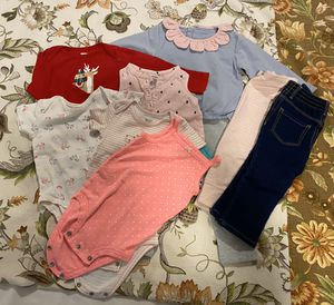 Photo Baby girl clothes- size 12M- all for 5 dollars