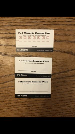 Csl plasma express pass for Sale in Vancouver, WA - OfferUp