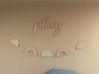 Girls Rainbow Room Decor  Thumbnail