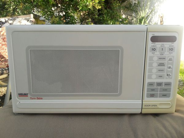 Welbilt Turntable Microwave Oven For In Fort Myers Beach Fl Offerup
