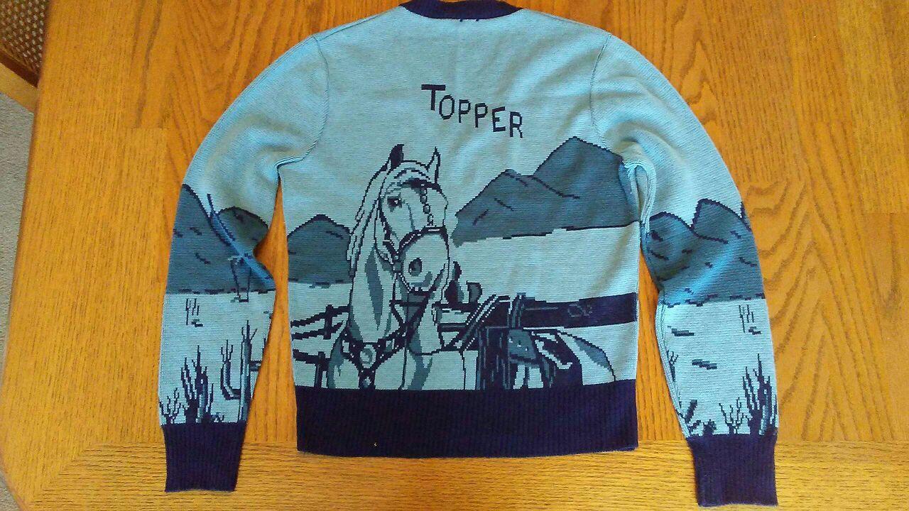 Hopalong Cassidy child's sweater