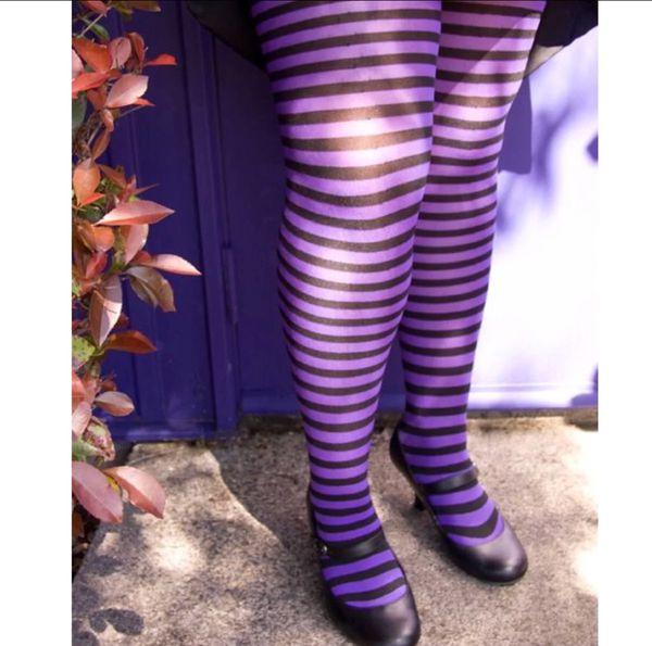 9c69264e420 Plus Size Purple Striped Tights for Sale in Gilbert
