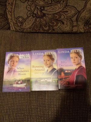 3 Amish romance books guc for Sale in Madison Heights, VA