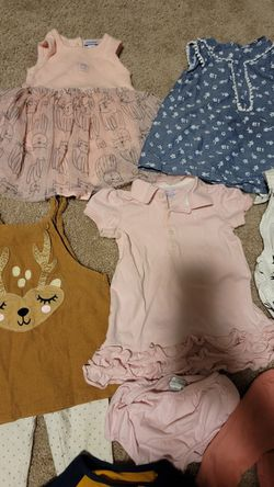Baby Girl Size 12 Month Clothing Lot Thumbnail