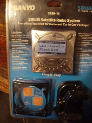 Home and auto sirius satellite radio system for Sale in Nashville, TN