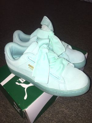 f2fbe3ad44bab Suede heart woman's PUMAS for Sale in Covina, ...