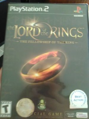 PS2 LORD of the Rings: The Fellowship of the Ring for Sale in Seattle, WA