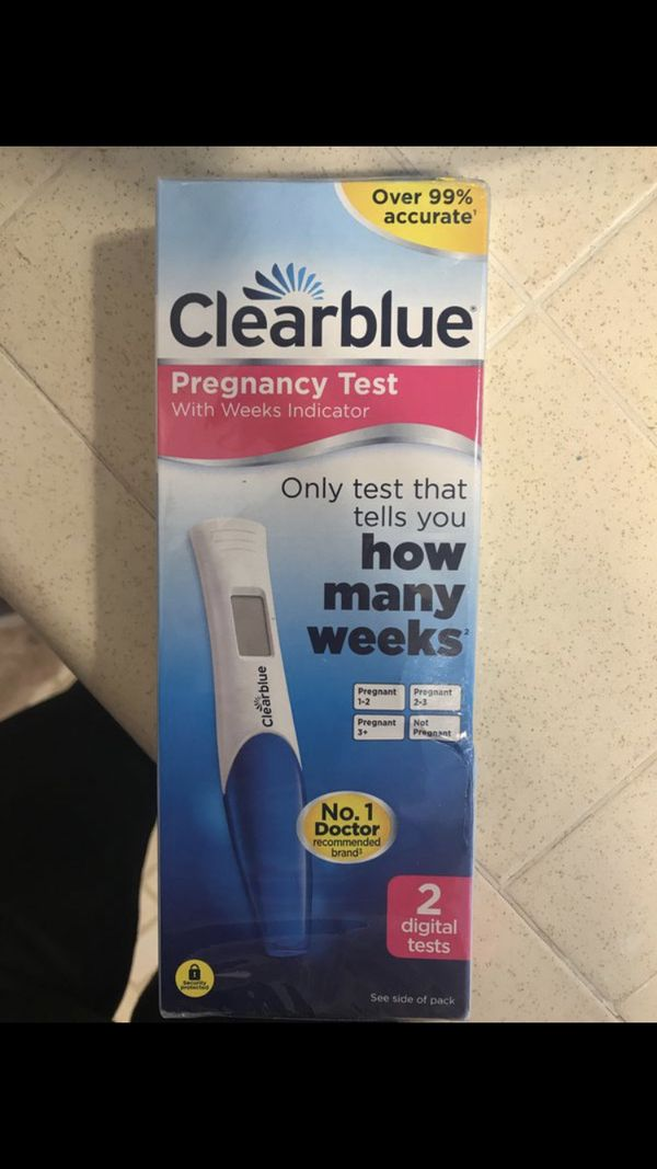 Clear Blue Pregnancy Test For Sale In Torrance Ca Offerup