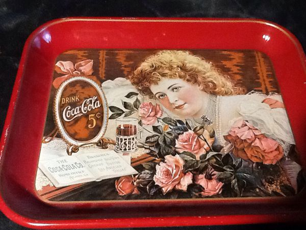 Old Coca Cola metal tray 75th anniversary  35 00 for Sale in Wylie, TX -  OfferUp