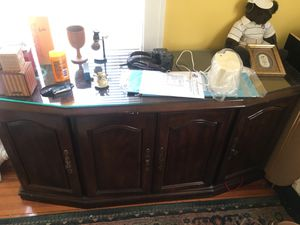 Solid Wood Storage • Office Credenza/Sideboard Cabinets for Sale in Washington, DC