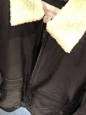 Calvin Klein leather jacket for Sale in Washington, DC