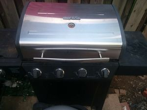 Electric grill transfer to Charcoal with propane side burner for Sale in Sterling, VA