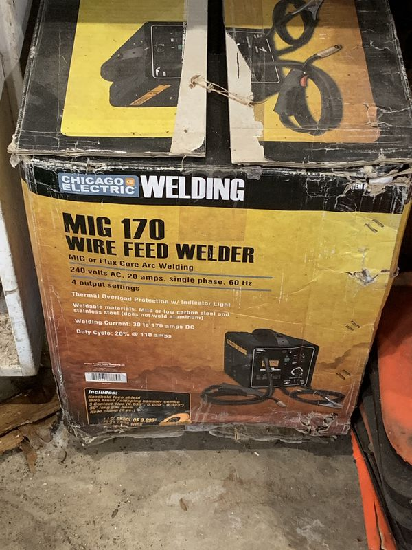 MIG 170 welder for Sale in Northbrook, IL - OfferUp