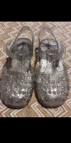 Photo Cat&jack glitter jelly sandals for girl size 9