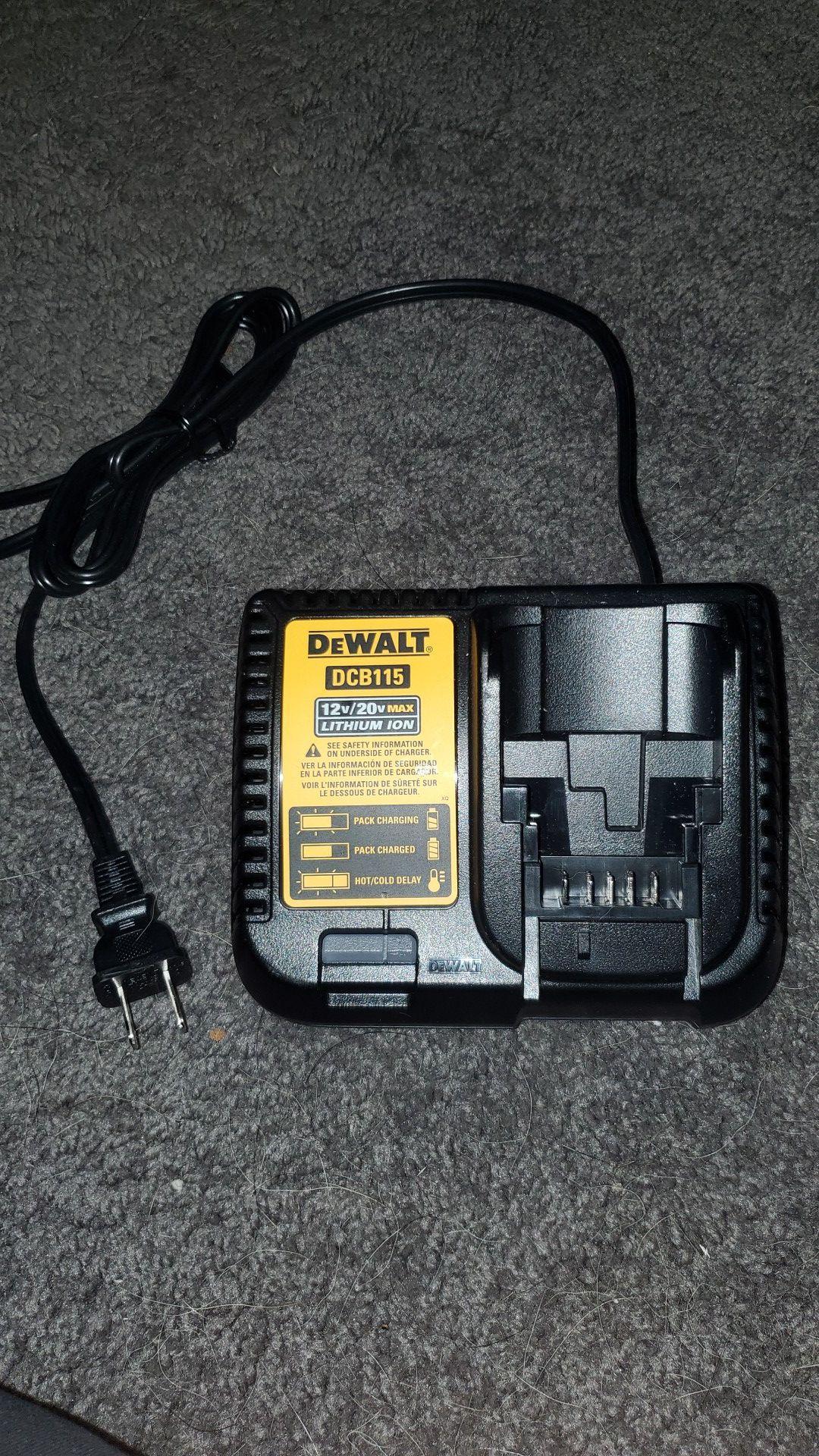 dewalt fast charger.