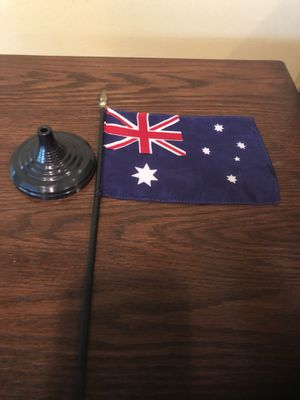 Australia Desk Flag for Sale in Centreville, VA