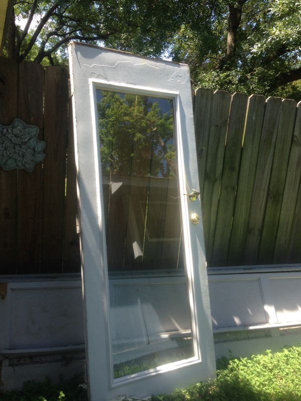Exterior Glass Door Household In Round Rock Tx Offerup