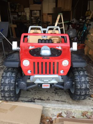 Jeep Hurricane Power Wheels ! Excellent toy for your kid! for Sale in Lake Ridge, VA